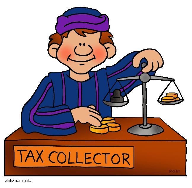 What s with collectors. Tax clipart bible