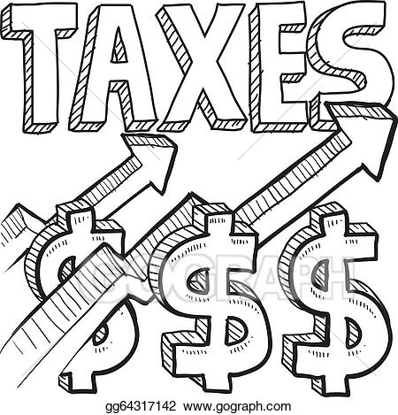Tax clipart drawing.  clipartlook