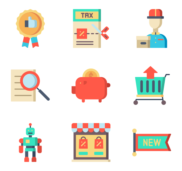 Tax clipart flat icon. Free icons designed by