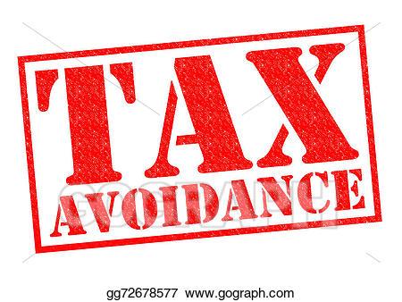 Tax clipart tax avoidance. Clip art stock illustration