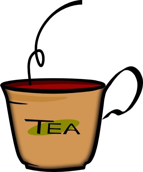 Tea clipart. Printerkiller cup of clip