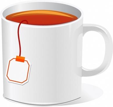 Cup clipart vector. Tea clip art free
