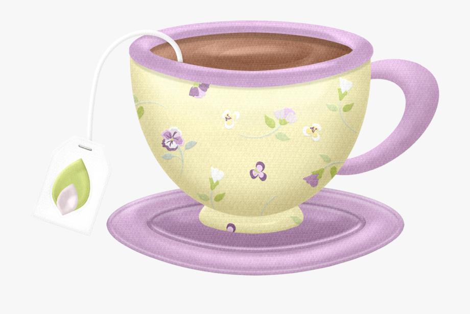 Cup purple clip art. Tea clipart social