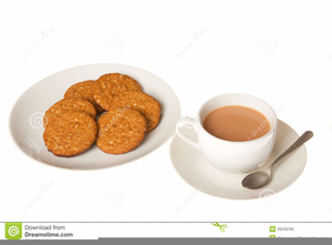 Cup of and biscuits. Tea clipart tea biscuit