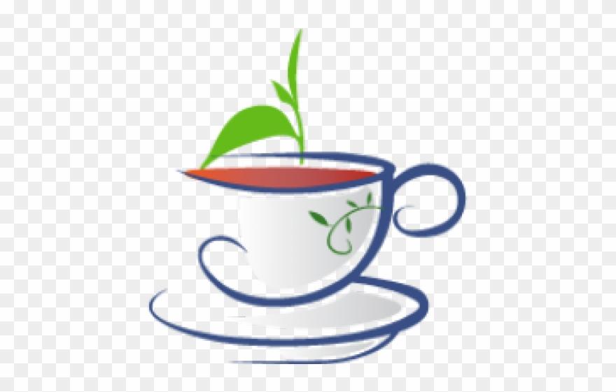 Cup room organic clip. Tea clipart tea house