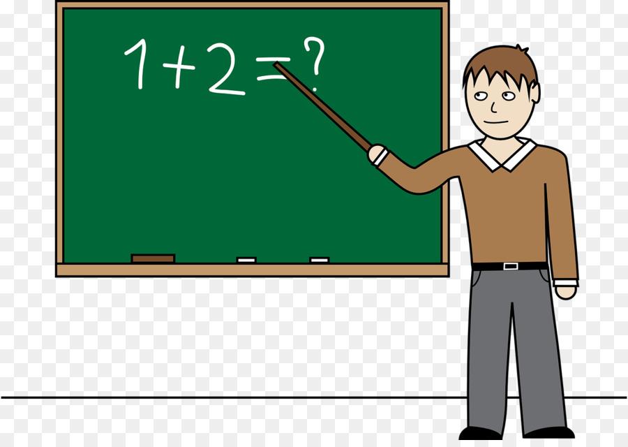 Teacher student mathematics clip. Teach clipart