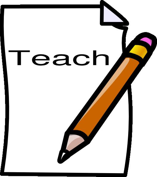 Teach clipart. Clip art at clker