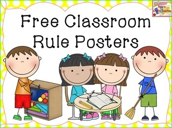 Classroom rules free teaching. Teach clipart middle school teacher