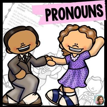 Pronouns therapy subjective possessive. Teach clipart speech teacher