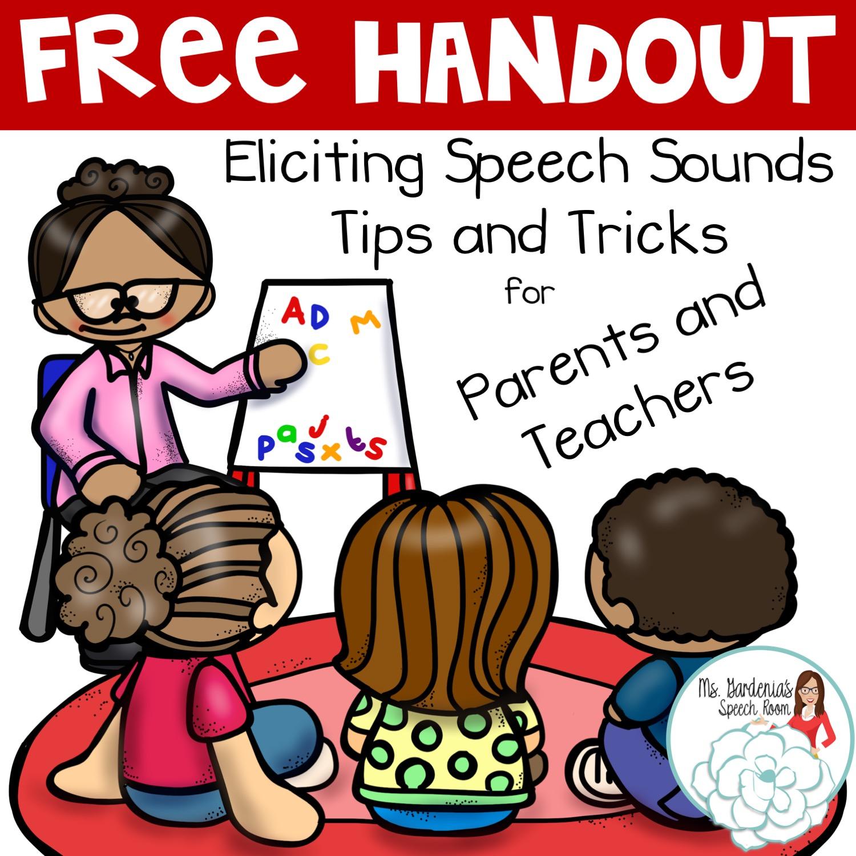 Teach clipart speech teacher. Printable handout for teaching
