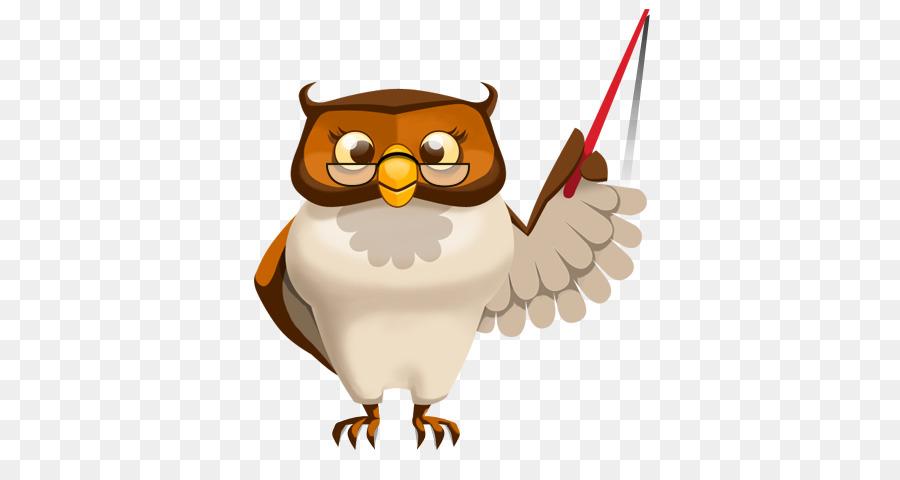 Teach clipart teacher model. Owl cartoon education transparent
