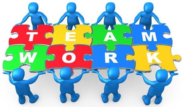 Teamwork clipart case management. Team clip art free