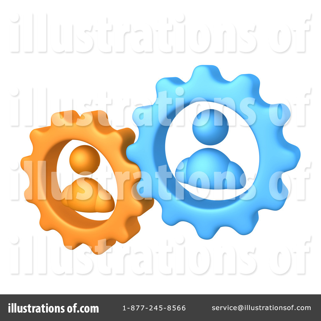 Teamwork clipart. Illustration by pod royaltyfree