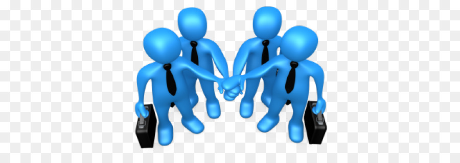 Hand cartoon team transparent. Teamwork clipart blue
