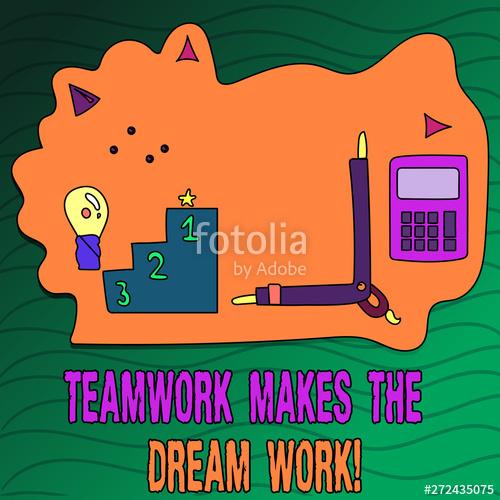 Handwriting text writing makes. Teamwork clipart camaraderie