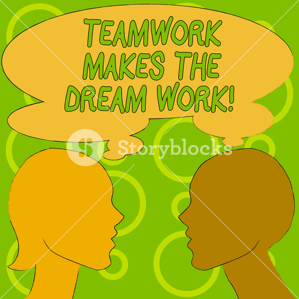 Teamwork clipart camaraderie. Conceptual hand writing showing