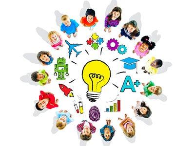 The power of inside. Teamwork clipart classroom