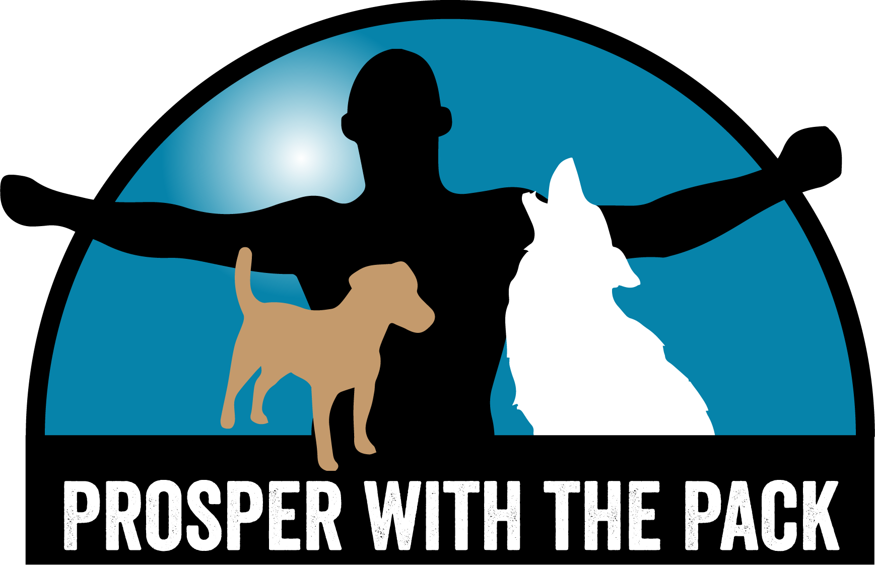 Prosper with the pack. Teamwork clipart collective bargaining