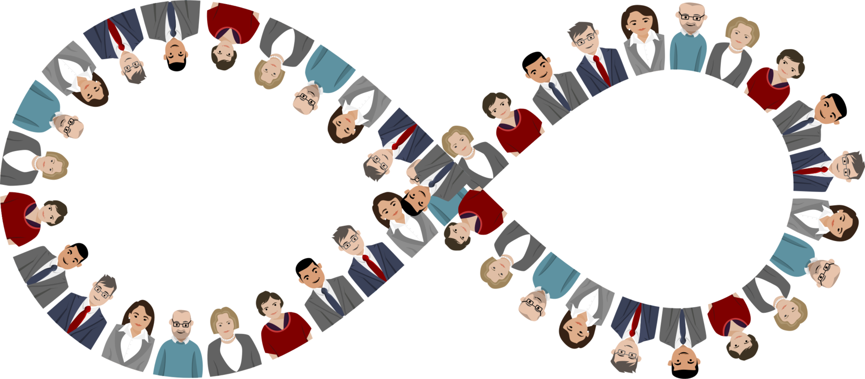 Teamwork clipart debate team. Small transparent cartoon