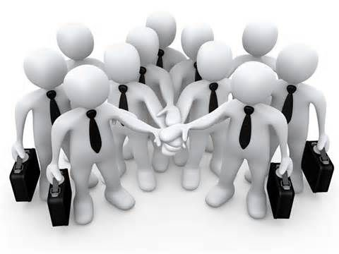 Leadership styles business . Teamwork clipart democratic leader