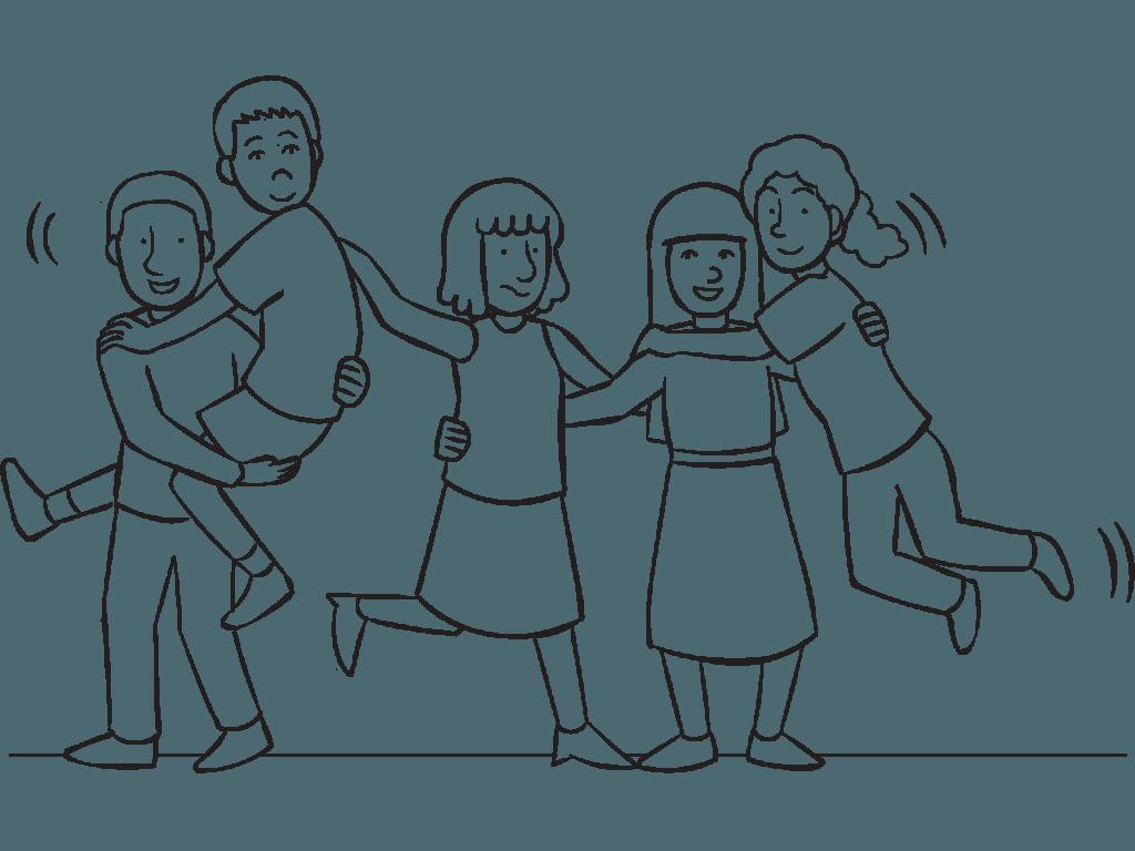 Teamwork clipart drawing. Team building at getdrawings