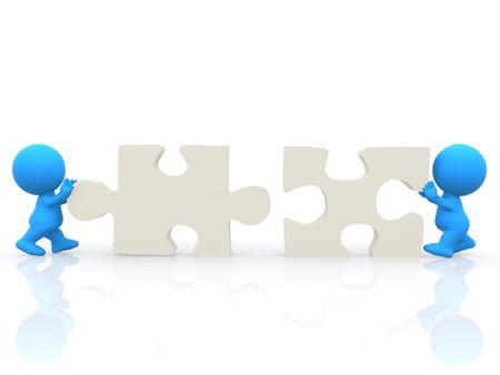 Teamwork clipart free 3d man.  d men assembling