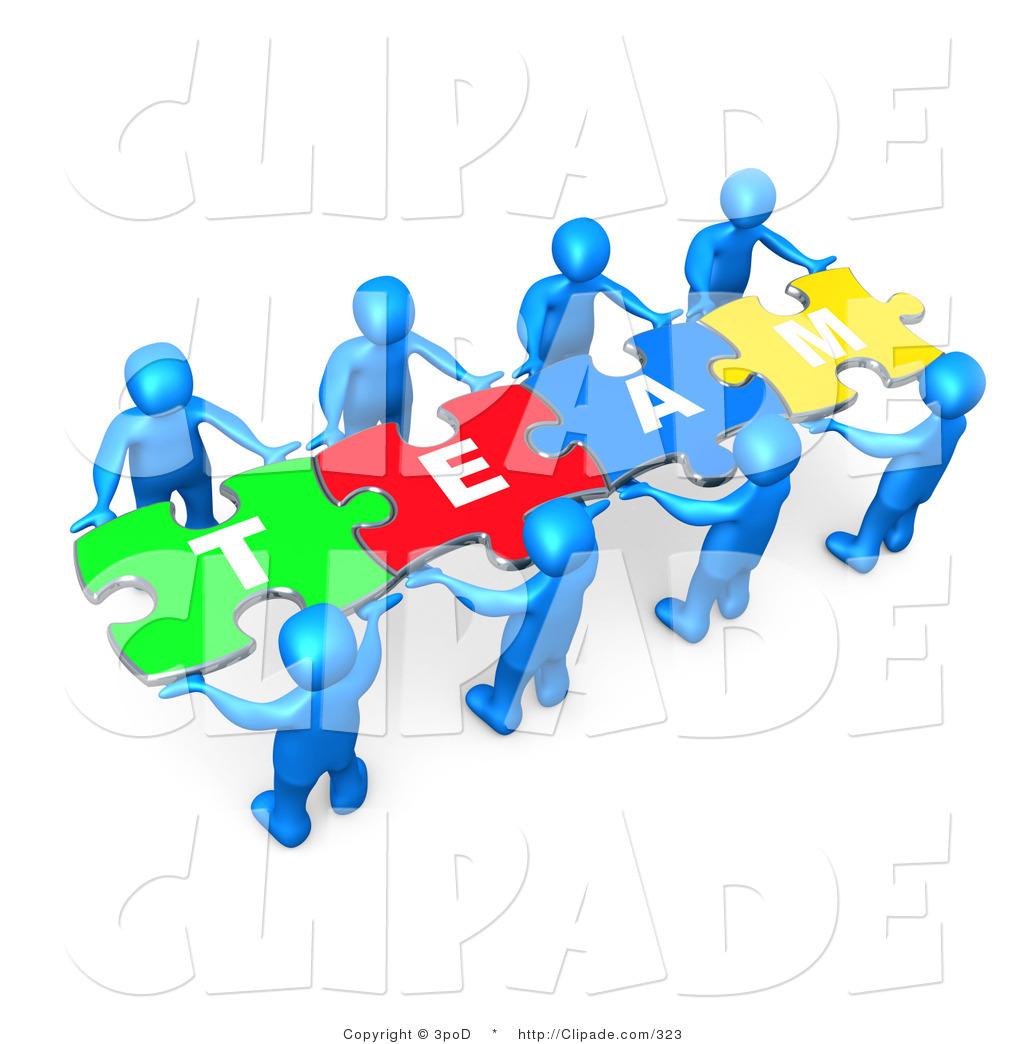 Teamwork clipart puzzle piece. Clip art of a
