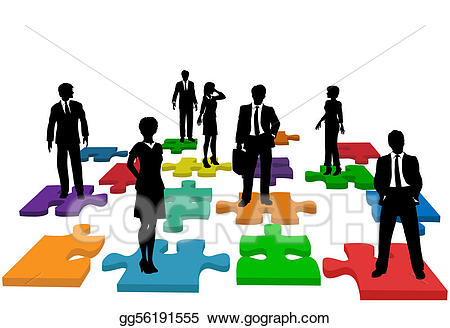 Vector business people human. Teamwork clipart resource