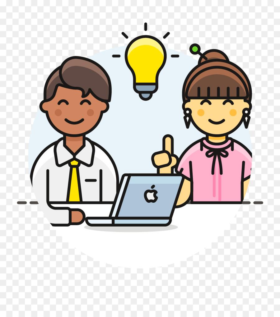 Customer icon business . Teamwork clipart school