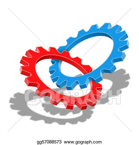 And stock illustration . Teamwork clipart synergy