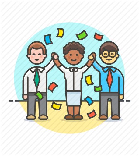 Teamwork clipart team award.  by webalys