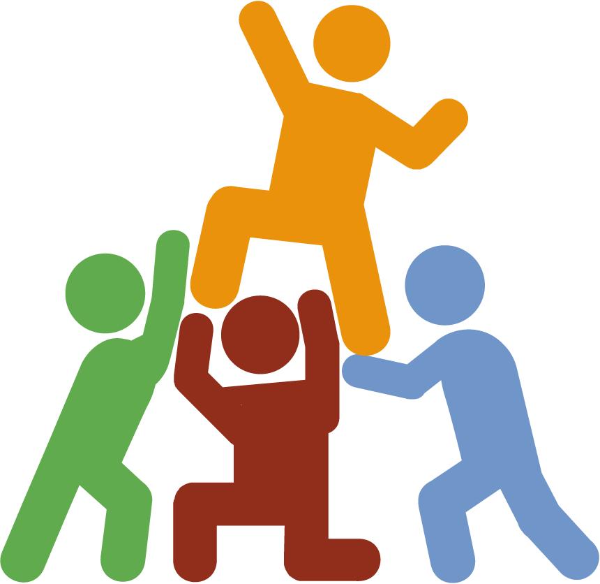 Building escape room blog. Teamwork clipart team game