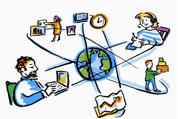 Images new livelihood education. Technology clipart