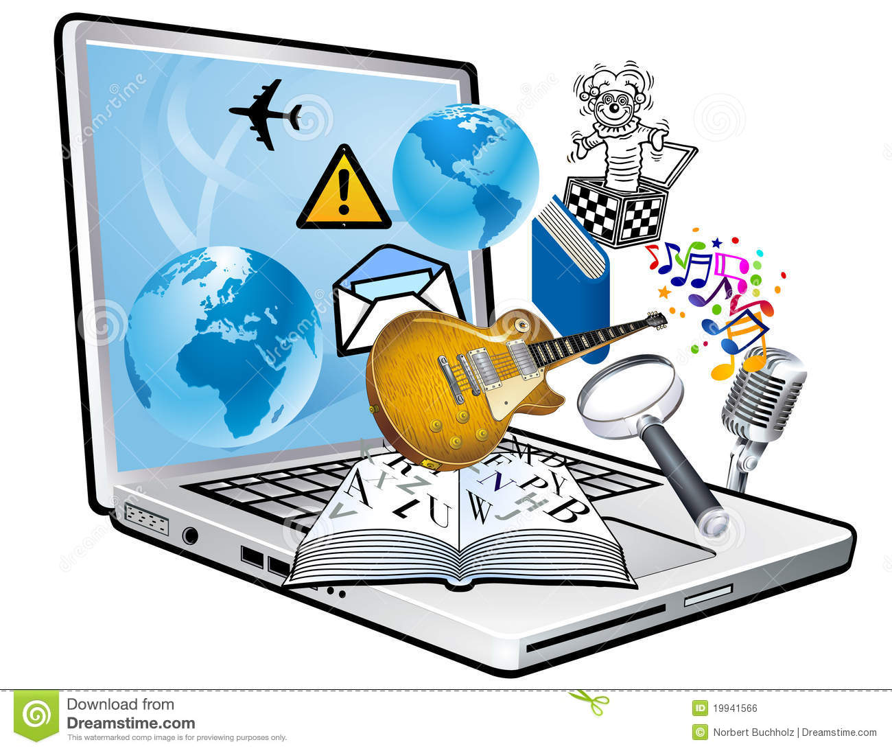 Information station . Technology clipart