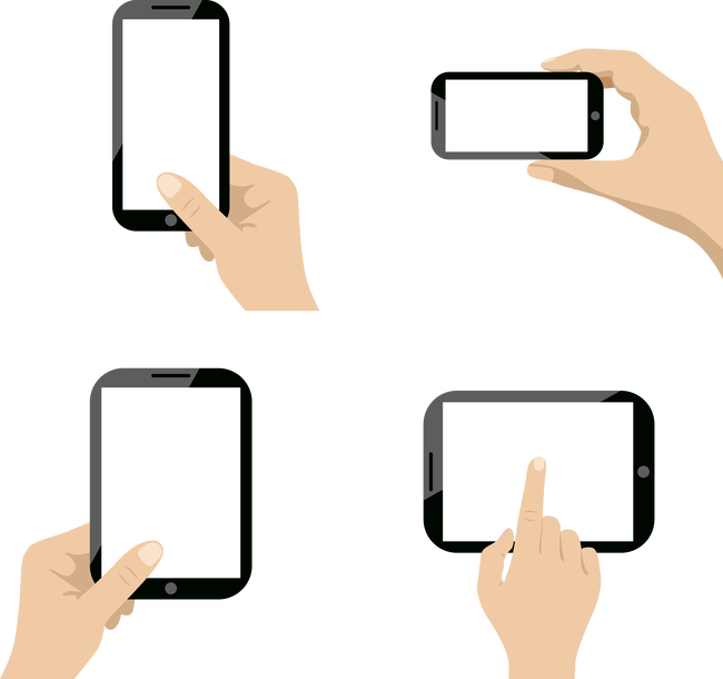 Smartphone mobile phone clip. Telephone clipart communication technology