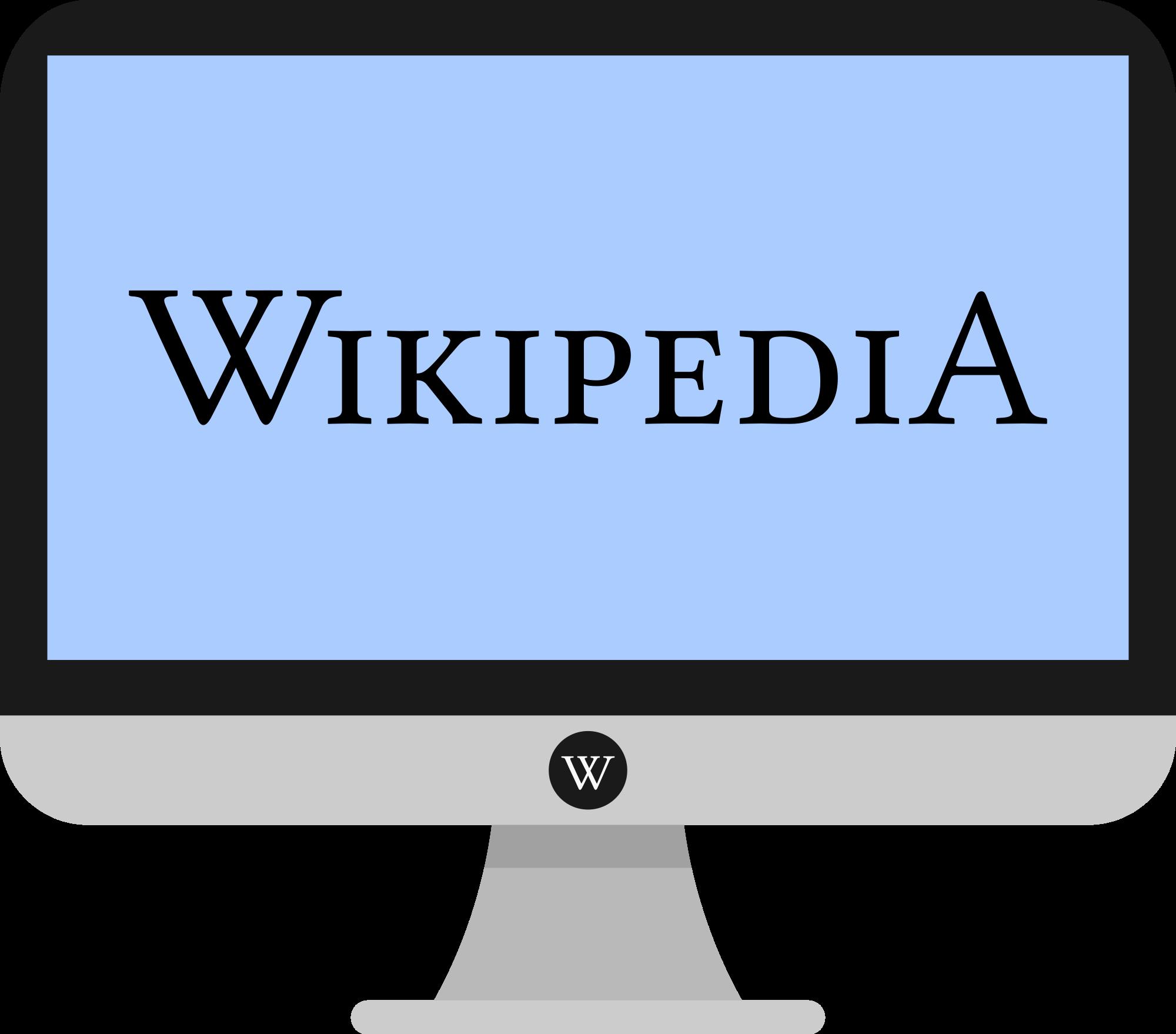 File wikipedia svg wikimedia. Technology clipart flat design