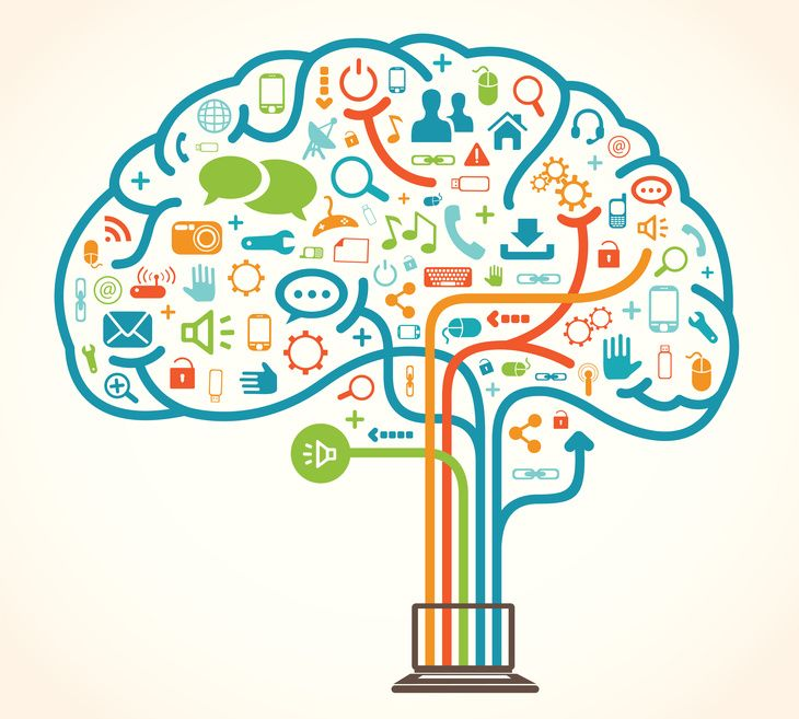 Modern computational thinkers . Words clipart technology