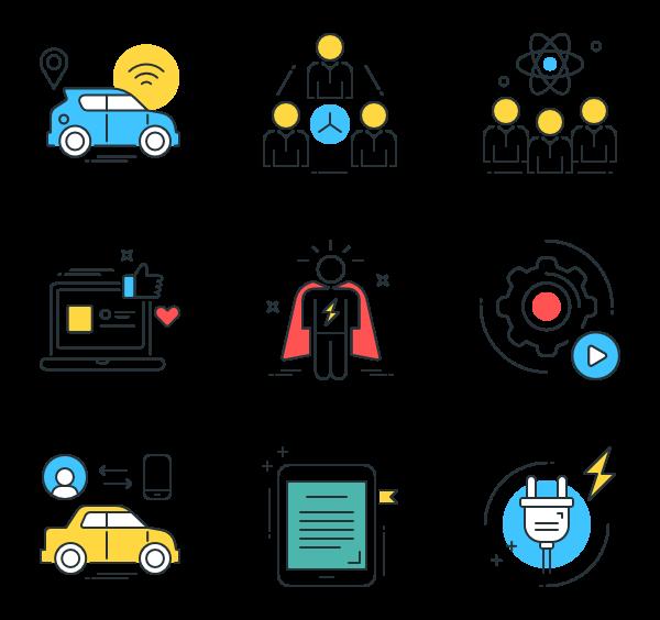 Premium icons svg eps. Technology clipart smart technology