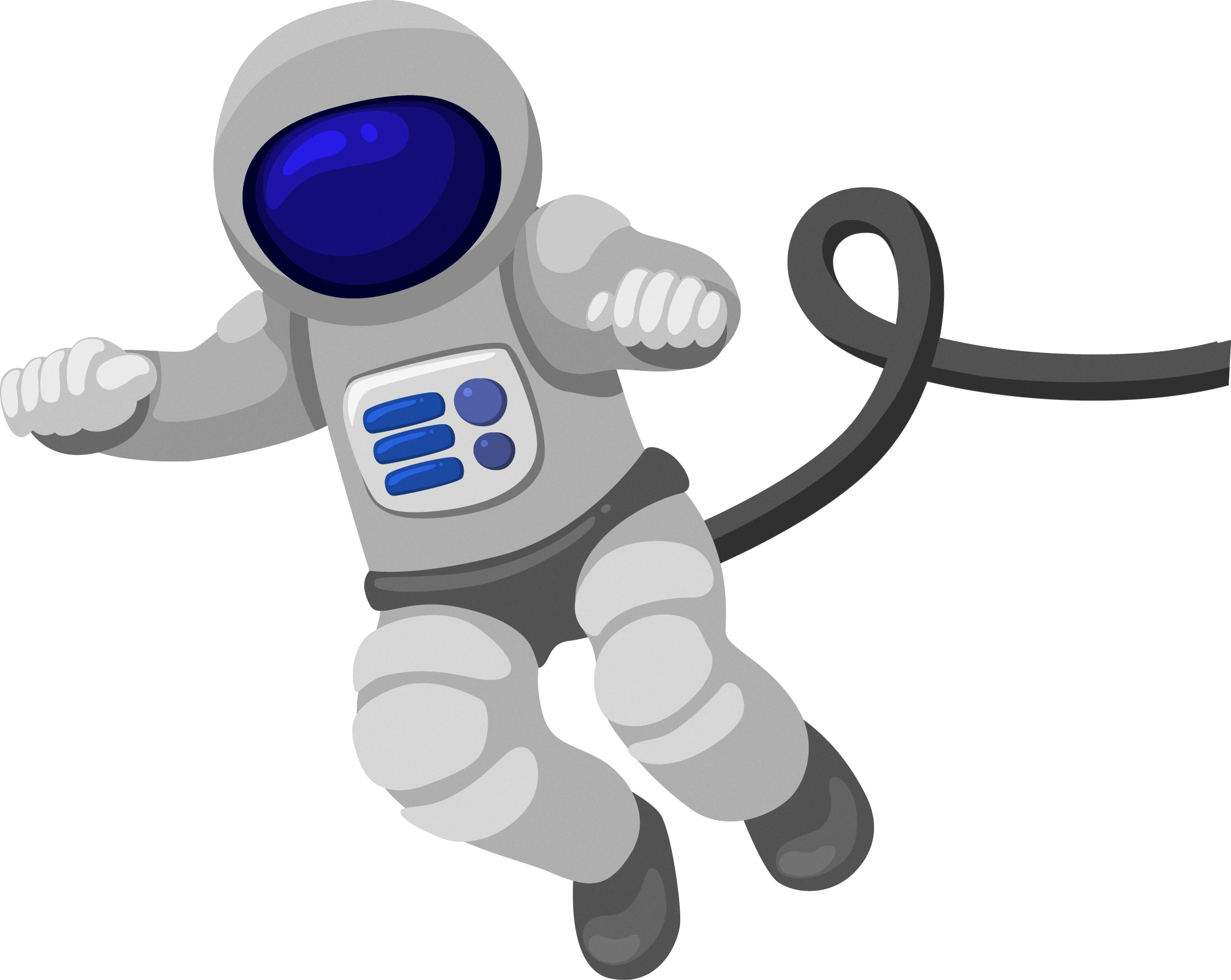 Astronaut cartoon outer clip. Technology clipart space technology