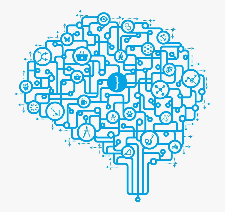 Brain png . Technology clipart transparent