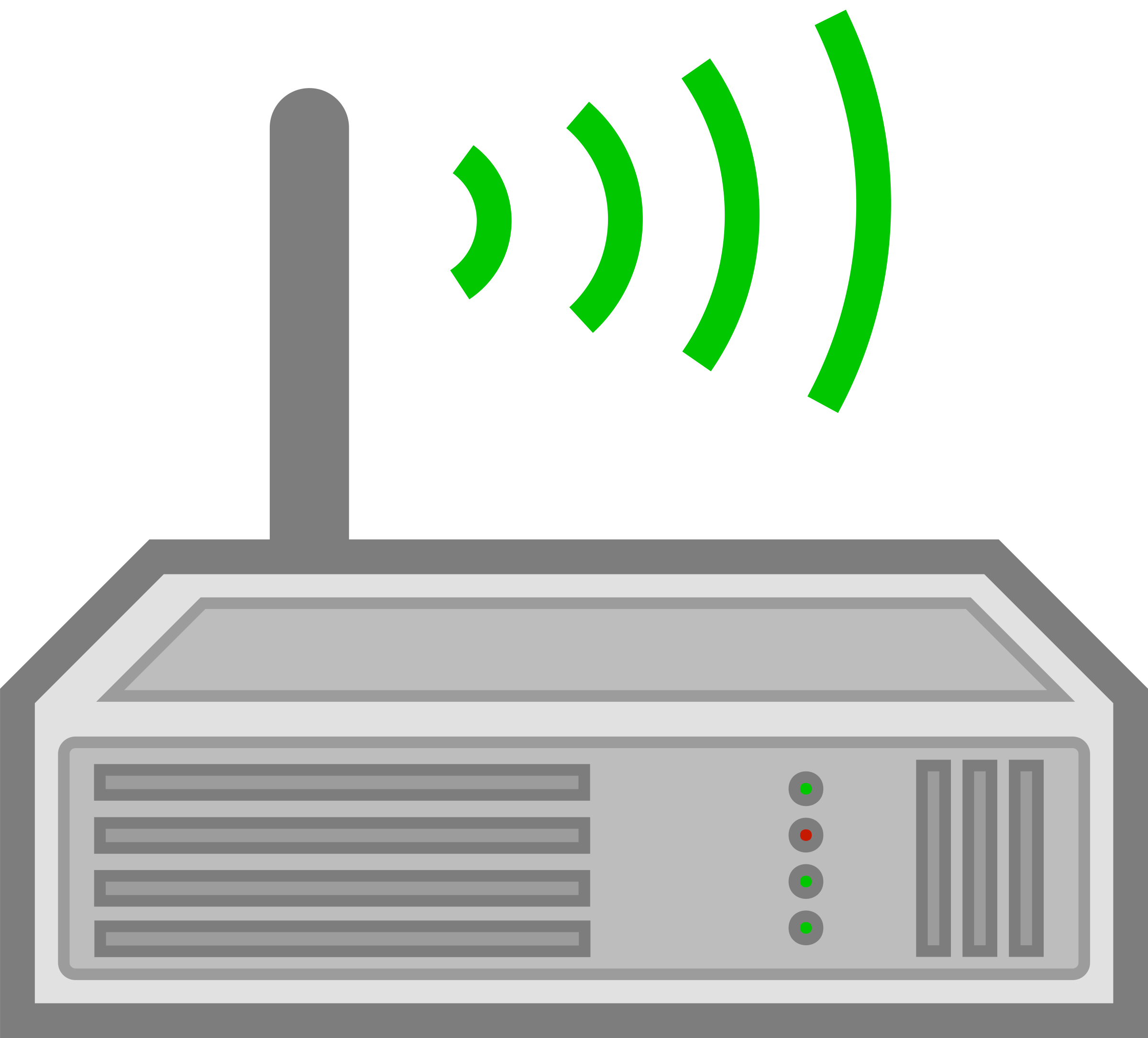 Router. Technology clipart wireless network