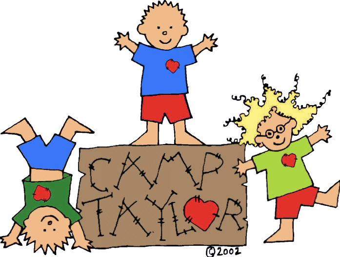 Teen clipart child heart. Camp taylor programs for