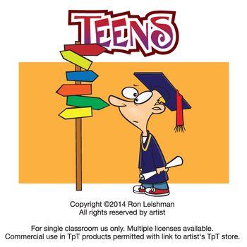 Teen clipart fun. School teens cartoon clip