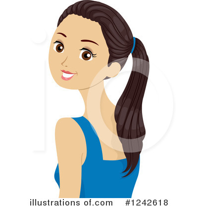 Teen clipart woman. Girl illustration by bnp