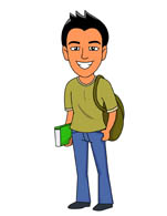 Teenagers clip art free. Teenager clipart