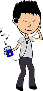 Clip art of teenagers. Teenager clipart