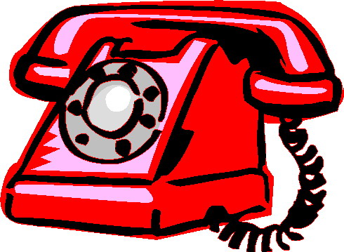 . Telephone clipart