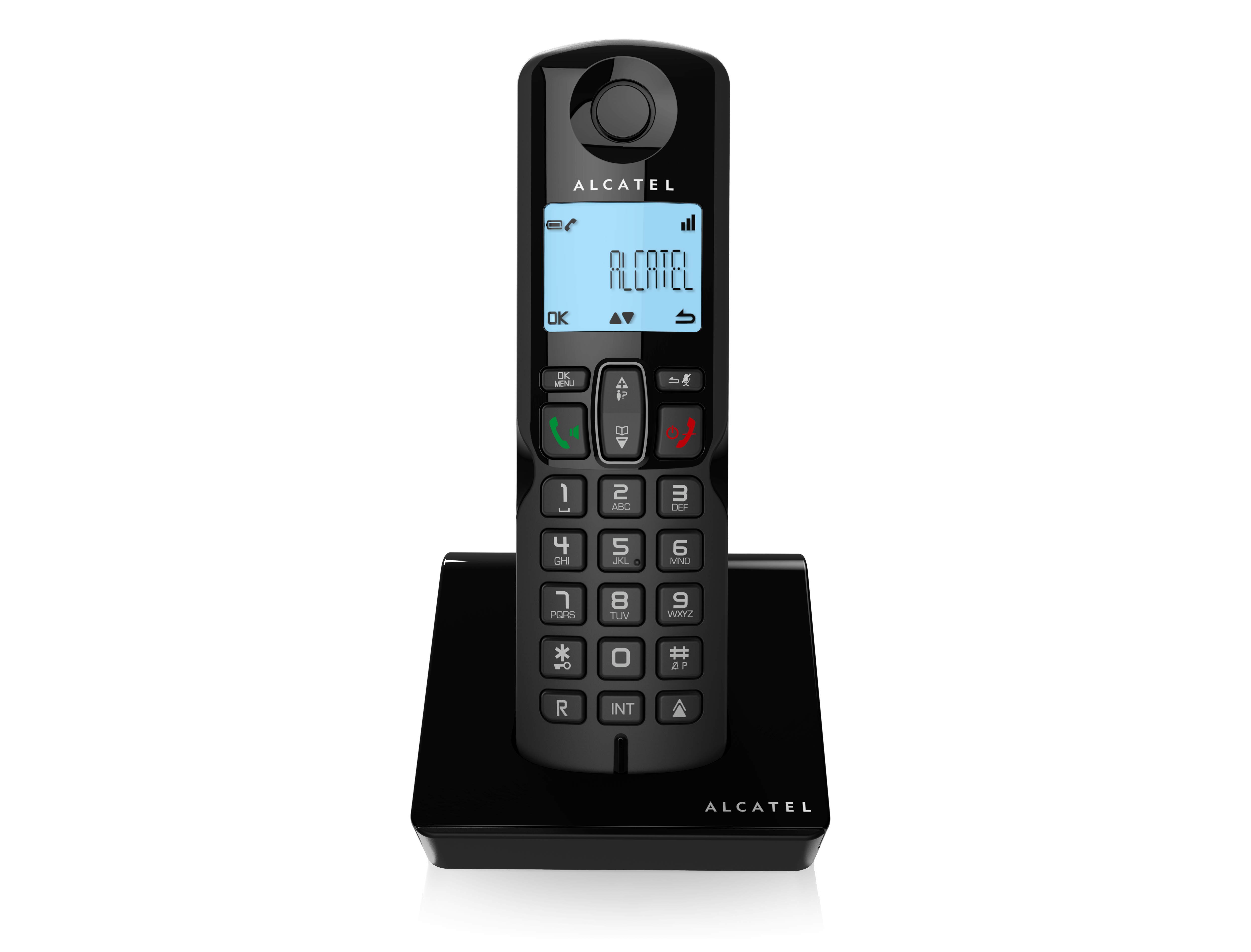 Telephone clipart cordless telephone. Alcatel s and voice