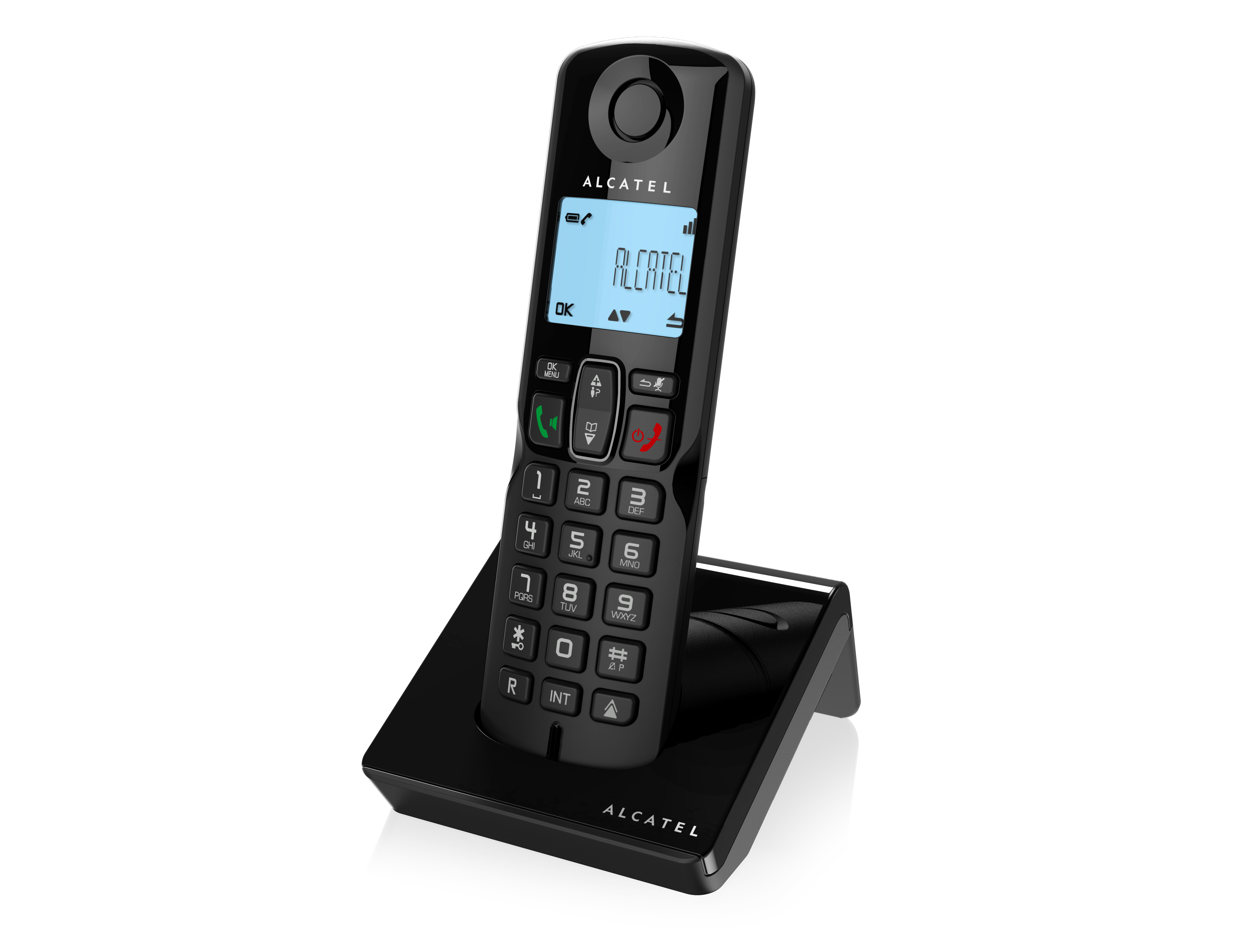 Alcatel s and voice. Telephone clipart cordless telephone