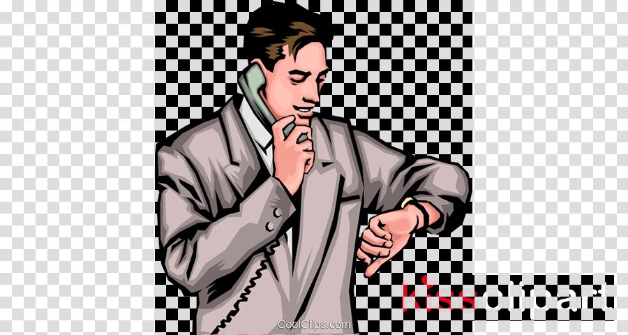 Telephone clipart man. Hair cartoon illustration